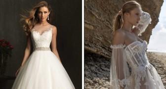 10 vestidos sensacionais que podem transformar qualquer noiva em uma princesa