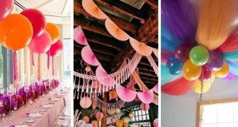 10 strepitose decorazioni fai-da-te utili per organizzare fantastiche feste di compleanno