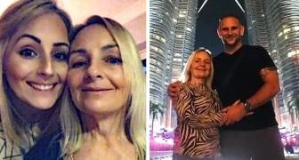 Los recién casados invitan a la suegra a la luna de miel: al regreso se descubre que la mujer está embarazada del yerno