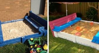 Il metodo passo a passo per costruire una sabbiera di legno fai-da-te per la gioia dei bambini