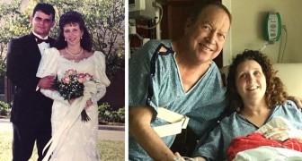 Een weduwe schenkt een nier aan de man die de organen van haar overleden echtgenoot al had gekregen