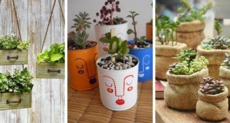 11 idées originales pour décorer de vieux objets et les transformer en vases et jardinières fantastiques