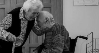 Lui ha 100 anni, lei 93: dopo 101 giorni separati dal Covid, questa coppia finalmente si riabbraccia