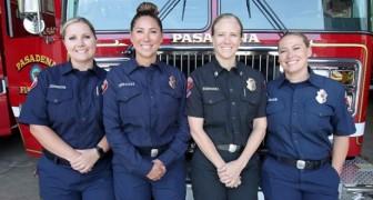 Una squadra di vigili del fuoco tutta al femminile: in California è la prima volta nella storia