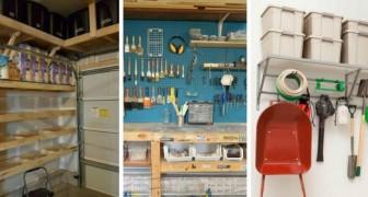 12 soluzioni super-ingegnose per sfruttare al meglio lo spazio nel garage e trovare posto a tutto