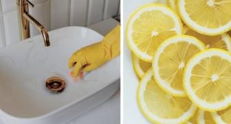8 modi di usare il limone al posto della candeggina per igienizzare la casa