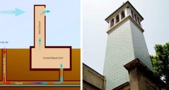 Les anciennes tours à vent persanes : parmi les premiers systèmes de climatisation intérieure au monde