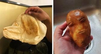 Pareidolie: 14 Fotos illustrieren das Phänomen, dass wir dazu neigen, unbelebten Objekten ein Gesicht zu geben