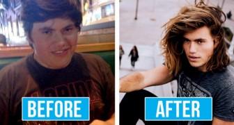 15 ragazzi che da brutti anatroccoli si sono trasformati in bellissimi cigni