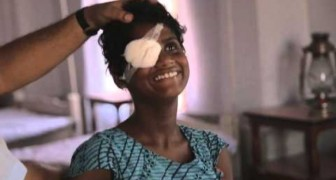 These 2 sisters in India were born blind, but after receiving surgery their life changed !