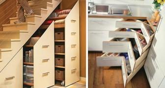 17 soluzioni intelligenti per nascondere dalla vista gli oggetti in casa e creare spazio extra