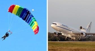 Perché a bordo degli aerei di linea non ci sono i paracadute per i passeggeri?