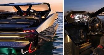 Lamborghini présente son premier yacht : le bateau de 3 millions d'euros qui ressemble à une voiture de sport
