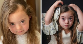 La trisomie 21 n'a pas arrêté les rêves de la petite Francesca : à 4 ans, elle est déjà une reine de la mode