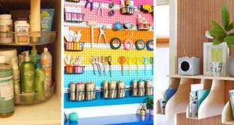 10 consigli utili per fare ordine e organizzare al meglio i vari ambienti di casa