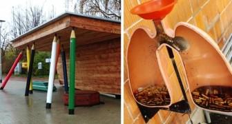 15 Beispiele für intelligentes Design, die Stadtecken einzigartig gemacht haben