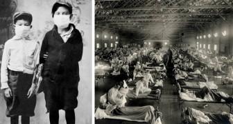 10 Archivfotos bezeugen den traurigen Verlauf der spanischen Grippe im Jahr 1918