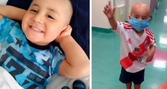 Il a vaincu un cancer à seulement 3 ans, en pleine pandémie : Je suis heureux parce que je suis guéri !