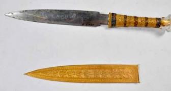 Le poignard du pharaon Toutankhamon a été créé à partir d'une météorite tombée du ciel : une recherche le révèle