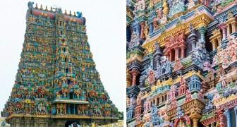 8 temples spectaculaires disséminés dans le monde entier qui étonnent par le savoir-faire qui se cache en eux