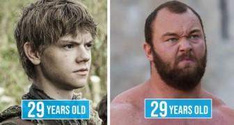 10 personaggi del mondo dello spettacolo che hanno la stessa età, ma che non sembrano affatto coetanei