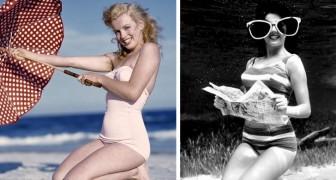 13 oude foto's die de schoonheid van vrouwen en mannen uit het verleden toont