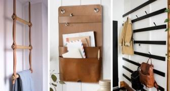 9 solutions DIY design pour faire de l'ordre en accrochant des objets aux murs