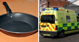 Man rushed to the emergency room after mother-in-law bludgeons him with a skillet for calling her fat