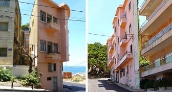 Um homem construiu um edifício alto e muito estreito para bloquear a vista para o mar de seu irmão