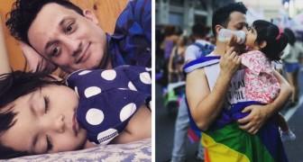 Um homem gay e solteiro conseguiu adotar uma garotinha que tinha morado sozinha no hospital por 1 ano