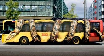 10 autobus dalla forma talmente strana che sembrano usciti direttamente da un sogno assurdo