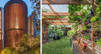 Een stel transformeert een oud huis in een zelfvoorzienend huis: het produceert energie, voedsel en water