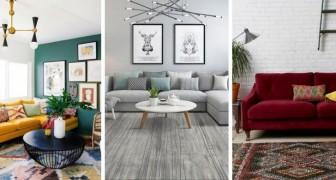 11 strepitose combinazioni di colori ideali per rendere il salotto moderno e affascinante