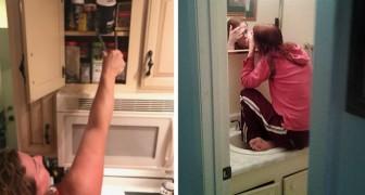 12 photos montrant tous les problèmes que les filles de petite taille doivent affronter jour après jour