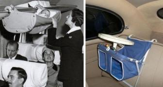 Culle e seggiolini d'altri tempi: 13 foto d'epoca mostrano alcune tra le soluzioni più curiose
