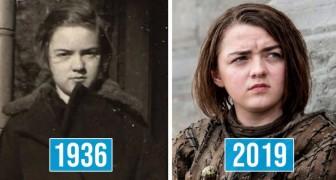 13 célébrités qui partagent des ressemblances extraordinaires avec des personnages historiques du passé