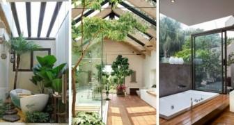 Un jardin dans la salle de bains : 10 idées fabuleuses pour créer des oasis de pure détente avec des plantes