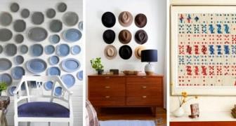 9 idee accattivanti per decorare le pareti di ogni stanza con soluzioni insolite e piene di originalità