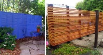 11 fantastiche recinzioni e staccionate fai da te da realizzare con legno, metallo o mattoni