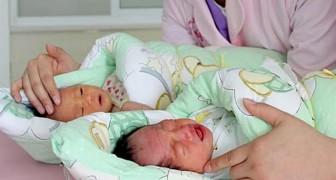 Una mujer da a luz dos gemelos de dos hombres diferentes: uno es el marido y el otro es el amante