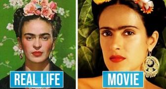 10 Schauspieler, die eine unglaubliche Ähnlichkeit mit den Prominenten zeigten, die sie spielten