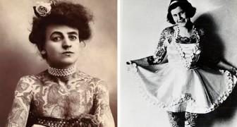 15 photos vintage de femmes exhibant fièrement leurs tatouages bien avant que cela ne devienne une mode