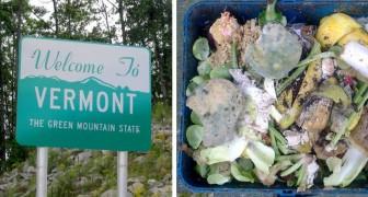 Usa: il Vermont è il primo stato al mondo a vietare lo spreco dei rifiuti compostabili nella spazzatura