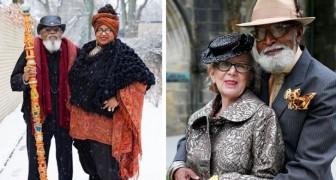 Ces 12 couples de seniors ont un style si élégant que même les stars d'Hollywood les envieraient