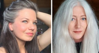 An entire instagram account is dedicated to celebrating women and their white hair