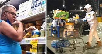 14 volte in cui i clienti del supermercato si sono esibiti nei comportamenti più assurdi
