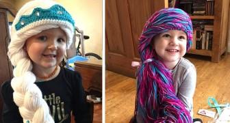 Uma enfermeira com um coração de ouro faz lindas perucas de princesa para meninas com câncer