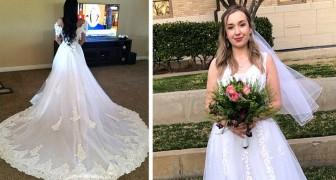 Goedkope bruiloften: 11 bruiden die prachtige jurken hebben gekocht zonder een fortuin uit te geven