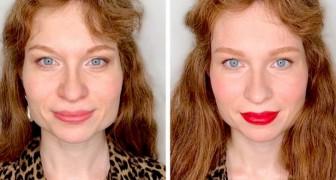 Uma maquiadora mostra a suas clientes pequenos truques para iluminar o rosto sem mudá-lo tanto