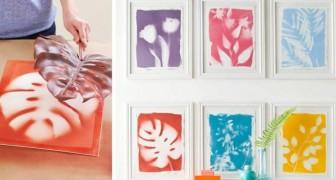 La tecnica semplicissima per realizzare fantastiche stampe botaniche fai-da-te e decorare le pareti con stile